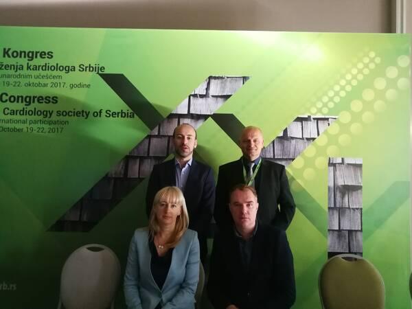 HISPA na 21. Kongresu kardiologa Srbije